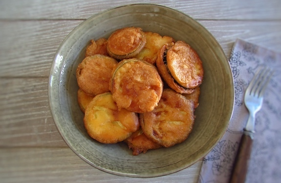 Fried courgette | Food From Portugal