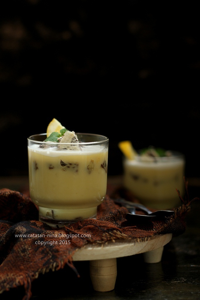 LEMON CUSTARD PUDDING