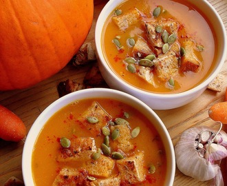 Zupa dyniowo-paprykowa / Roasted Pepper and Pumpkin Soup