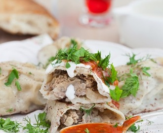 "Russian Monday: ""Manti"" - Steamed Buns Stuffed with Lamb"