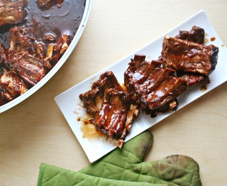Smoky Oven Roasted Ribs