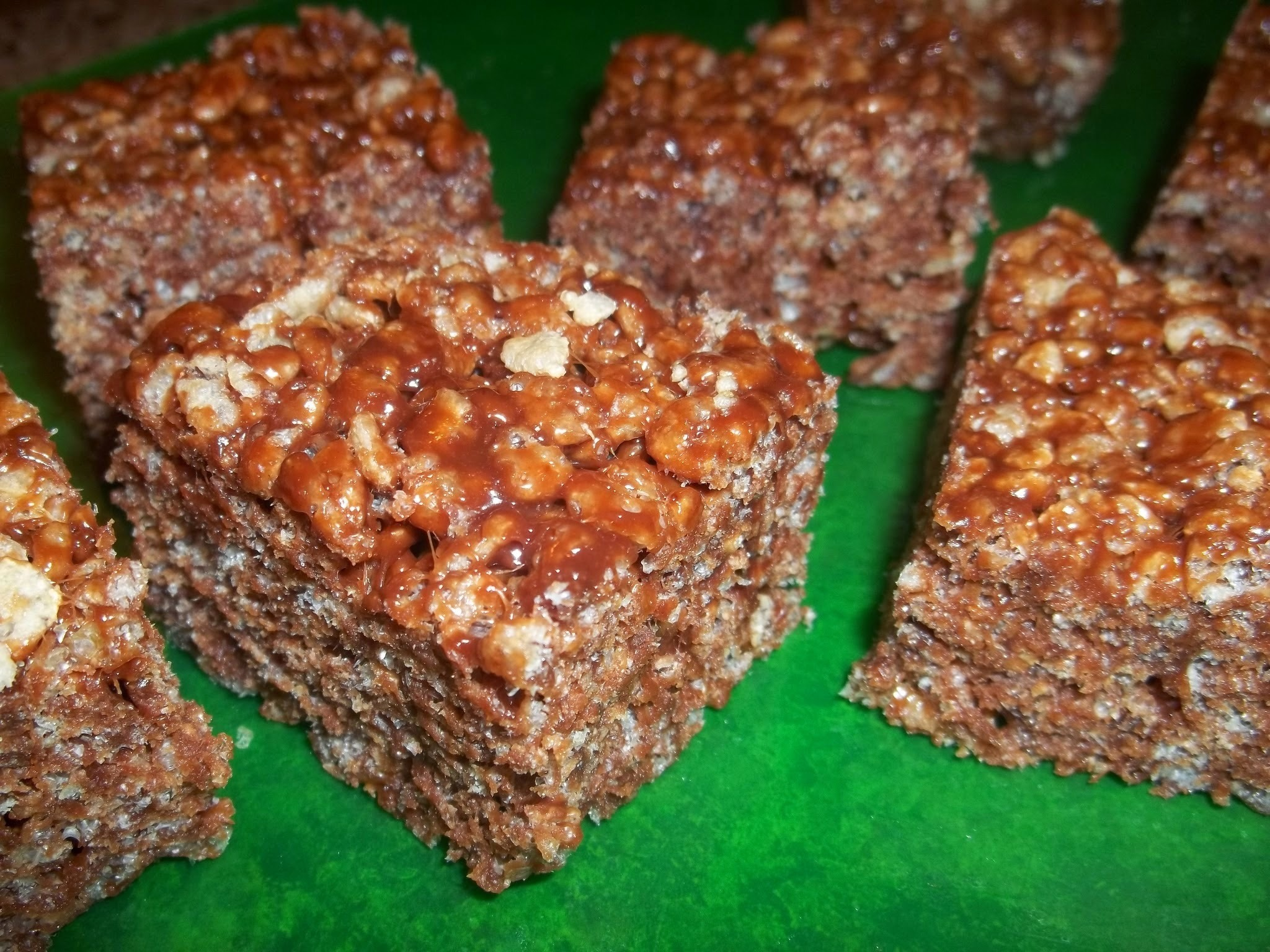Nutella Rice Crispy Treats: