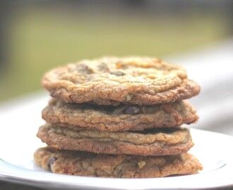 Browned Butter Toffee Pretzel Chocolate Chip Cookies