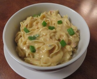 Cheesy Tuna Pasta Recipe