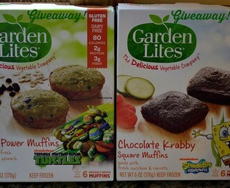 Garden Lites Nickelodeon Muffins Giveaway and Review 3/23