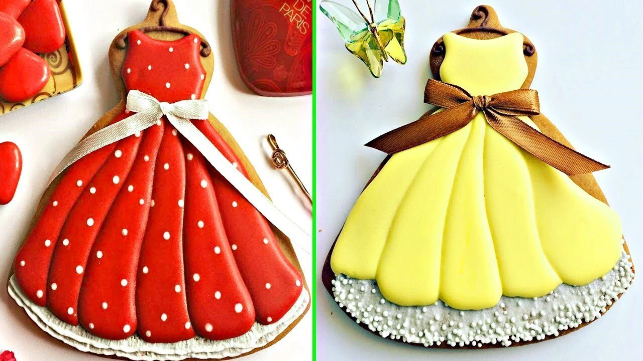 Birthday Cookie Ideas Dress | Awesome Cookies Art Decorating Compilation 2018 | Cookies Tasty