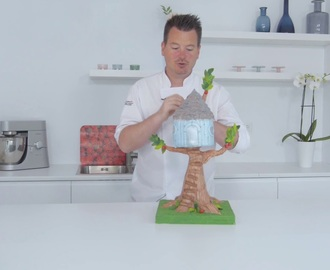 Old Treehouse Cake Tutorial