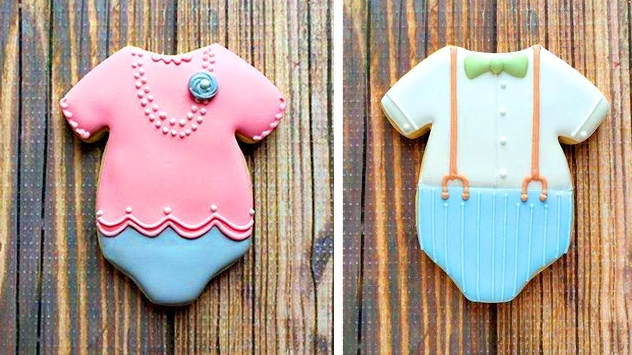 Top 5 Easy Cookies Decorating Ideas With Clother 2018 | Best Yummy Cookies
