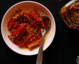 Instant Red Chilli Pickle