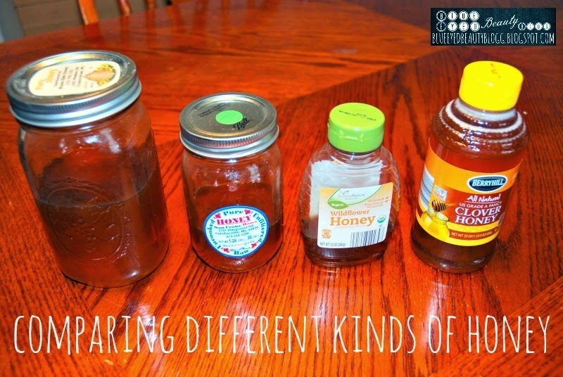 Comparing Different Kinds of Honey