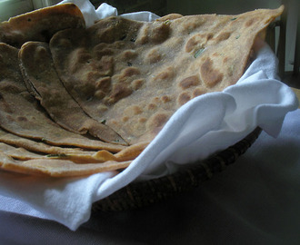 Whole Wheat and Corn Paratha