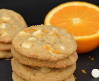 Orange Creamsicle Cookies
