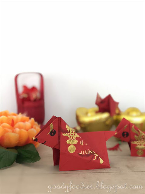 How to Make an Origami Dog for Chinese New Year
