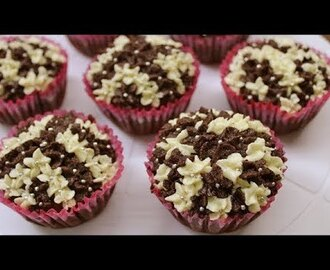 eggless chocolate cupcake recipe | cupcakes without oven | How to make eggless choco Cupcake - YouTube