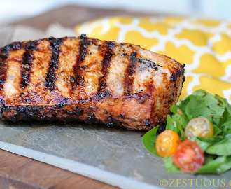 Grilled Zaatar Pork Loin