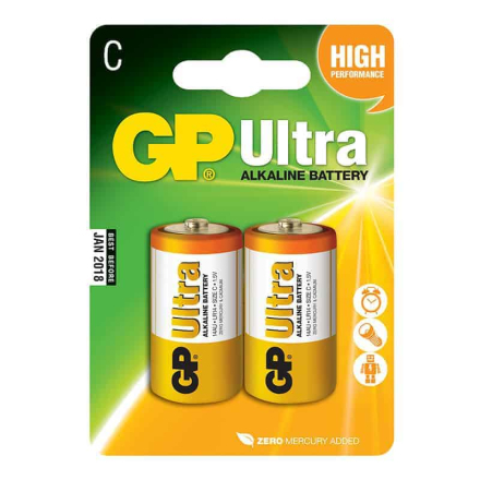 GP Ultra LR14 - C Batteri 2-pack