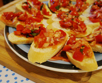 Bruschetta - the sicilian way