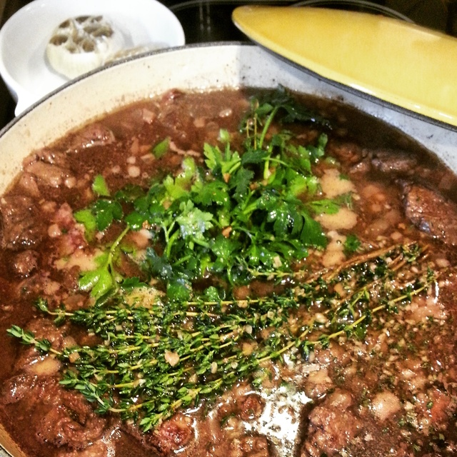 A Night with Julia | Classic Boeuf Bourguignon
