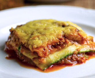 Lasagne de courgettes Weight Watchers