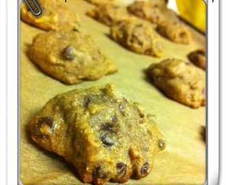 Gluten -Free Pumpkin Chocolate Chip Cookies