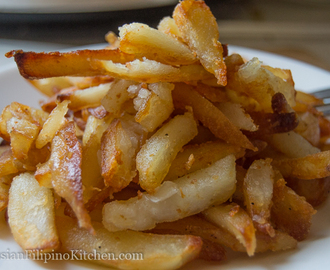Russian Style Pan Fried Potatoes