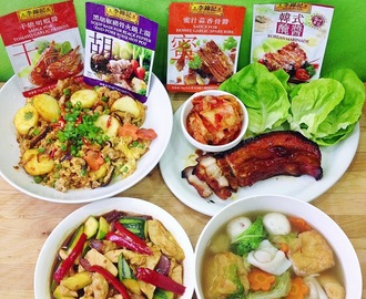 [30 Minutes Meal] Express Meal Using Lee Kum Kee Menu-Oriented Sauces