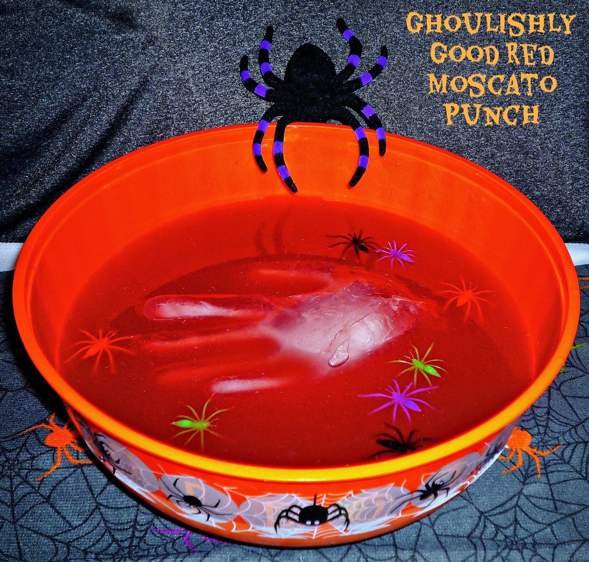Frightfully Fun Entertaining with Gallo Family Vineyards...Featuring Ghoulishly Good Red Moscato Punch #SundaySupper