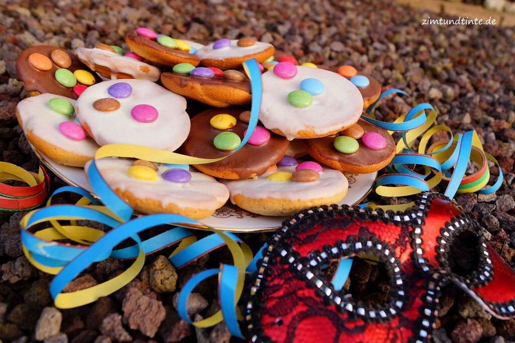 Fasching: Mini-Amerikaner mit Smarties