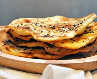 Gluten-Free Flatbreads with Sesame | Vegan Parathas