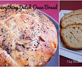 Everything Dutch Oven Bread for #BreadBakers