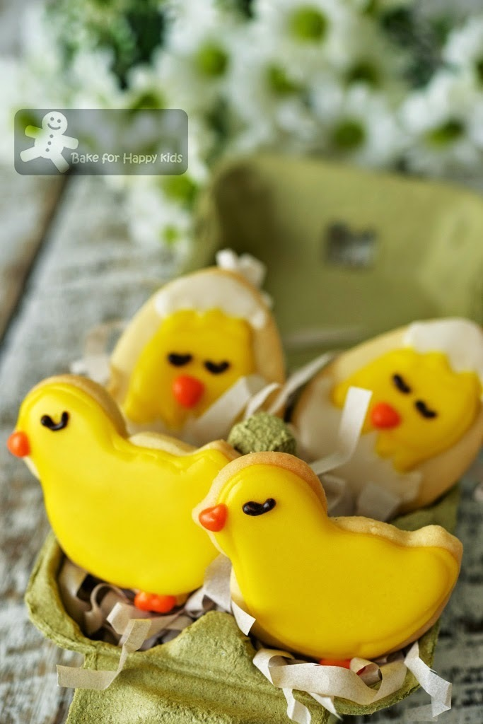 Easter Cookies (Cut-Out Cookie recipe by Nigella Lawson)