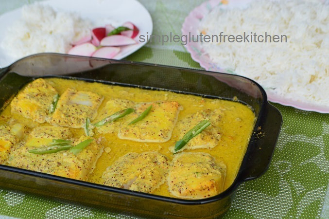 Steamed Fish in Mustard Sauce (Bengali Style)