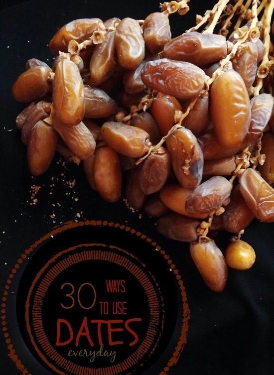 30+ Ways To Use Dates As A Natural Refined-Sugar Subsitute #SunnahKitchen