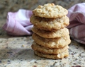 Brown Butter Coconut Cookies