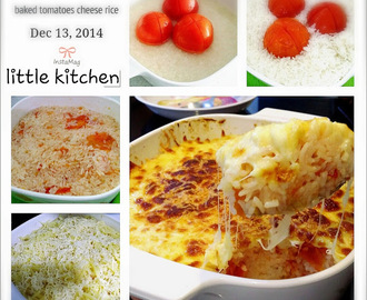 BAKED TOMATO CHEESE RICE