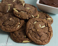Nutty Nutella Cookies