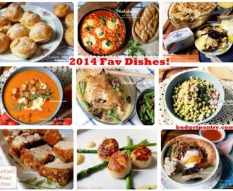 My Favourite Recipes of 2014!