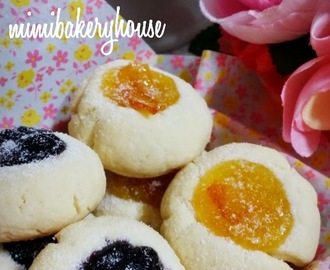 Thumbprint Cookies with Jammy 《01 Jan 2015》