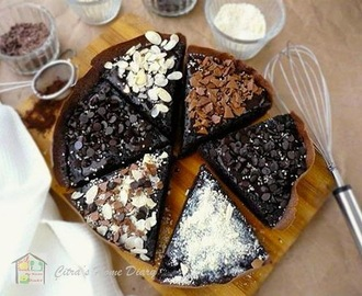 Martabak Manis Brownis (Indonesian style thick chocolate pancake)