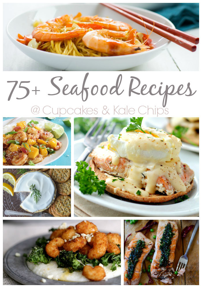 75+ Seafood Recipes