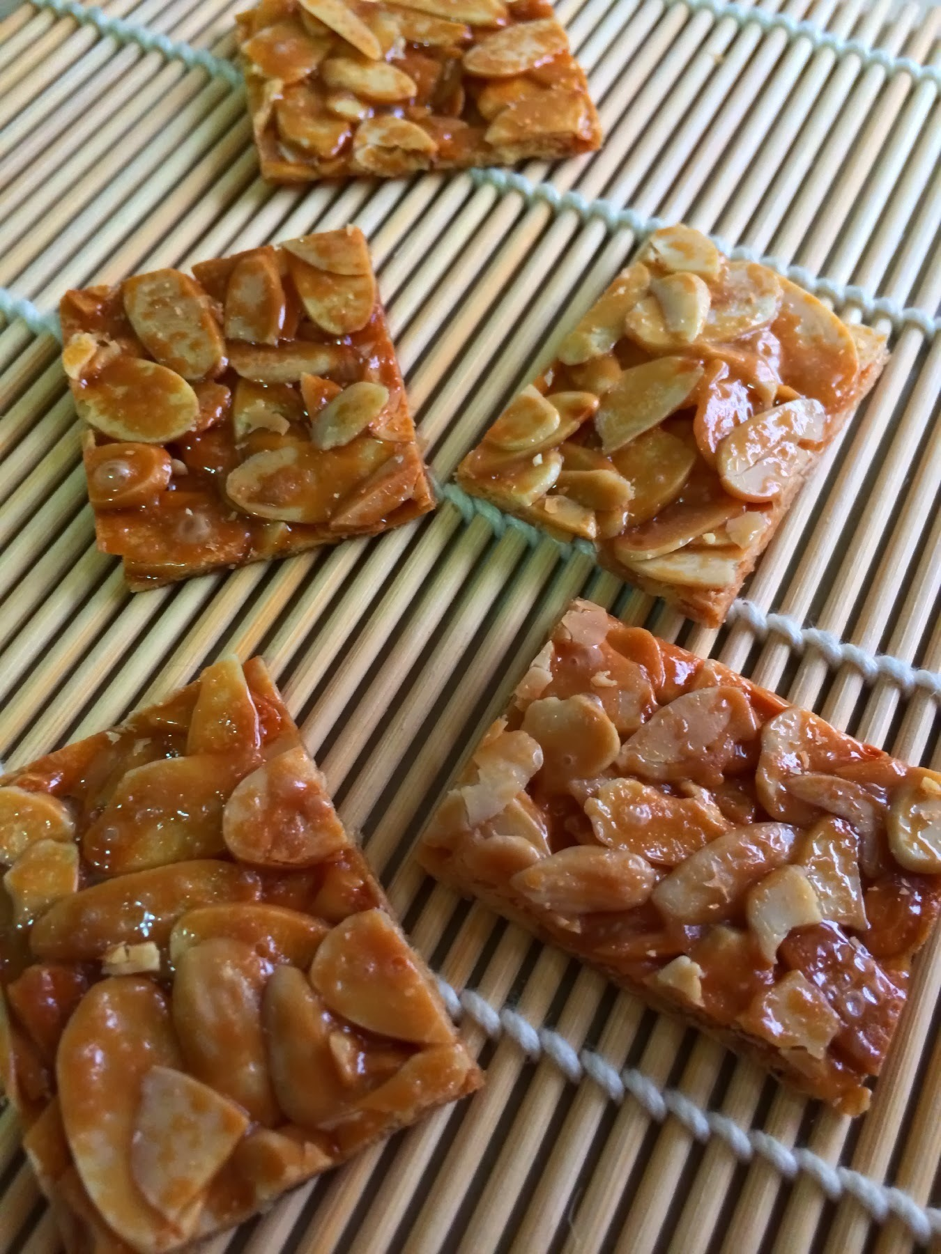 香脆杏仁片 Crispy Almond Slice