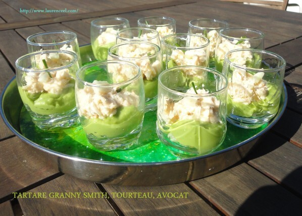 TARTARE GRANNY SMITH, TOURTEAU, AVOCAT