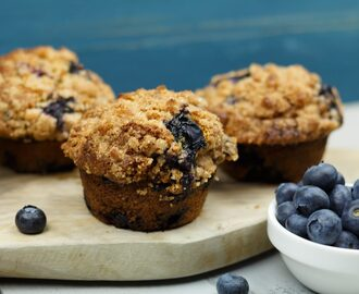 Blue Monday? Blueberry Muffin day!