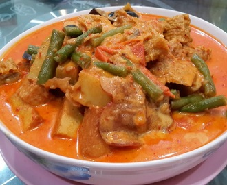 蔬菜咖喱 (Vegetable Curry)