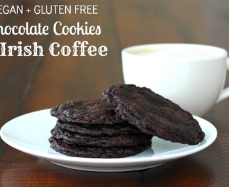Foodie Friday: Irish Coffee + Gluten Free Chocolate Cookie Mix Giveaway