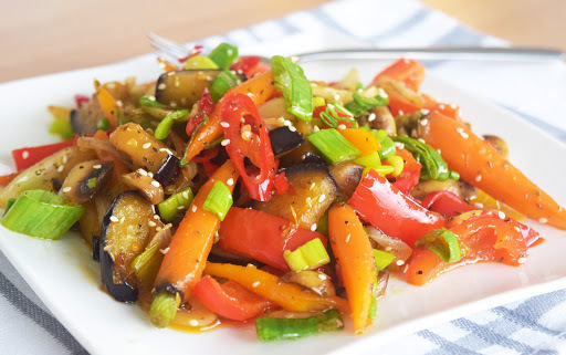 Just a little mixed vegetables - Hot and Spicy