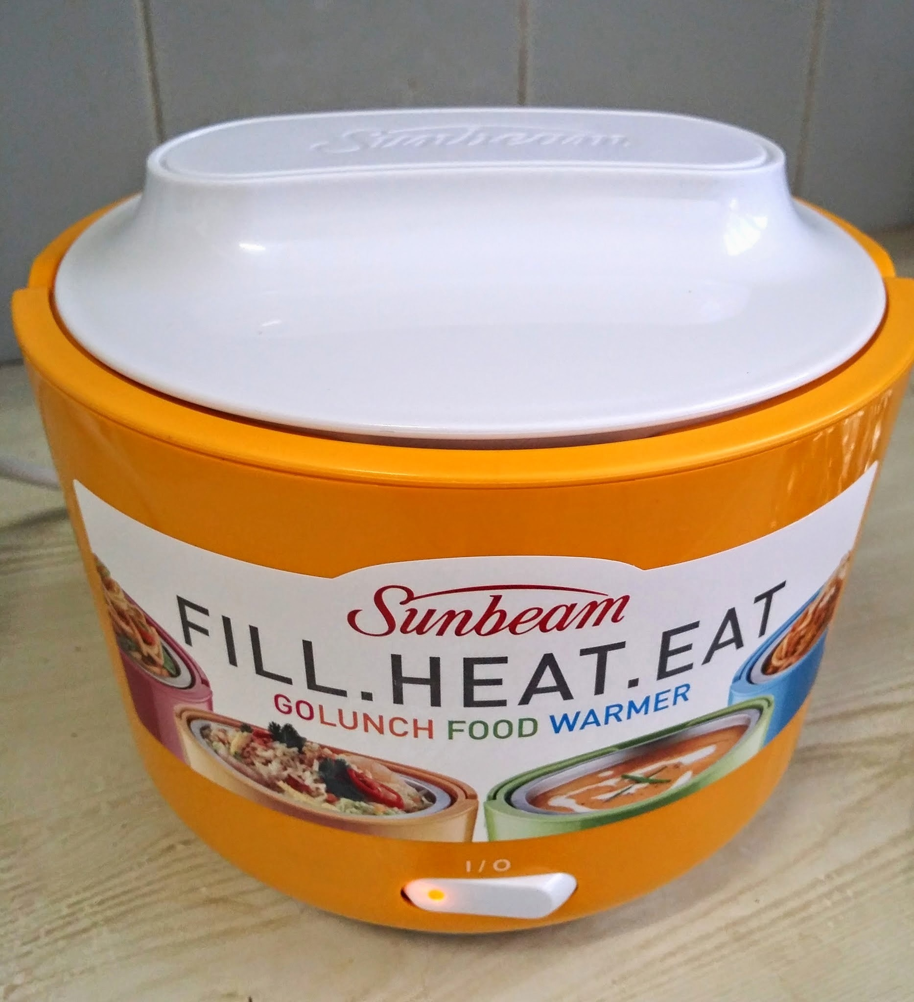 Sunbeam GoLunch Food Warmer - Product Review.