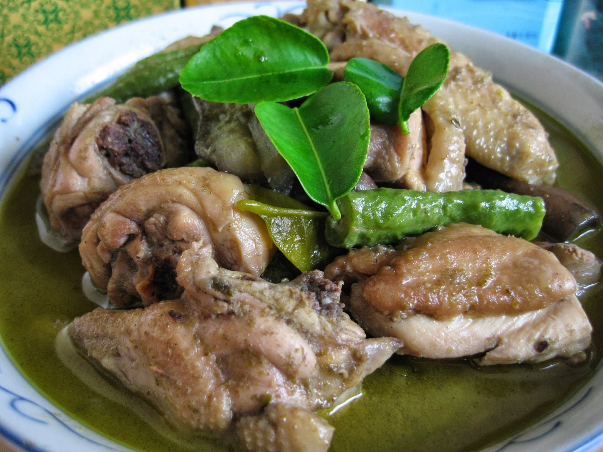 Thai Green Curry With Chicken  泰国青咖哩鸡