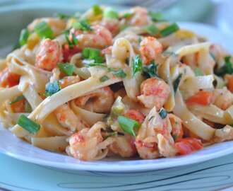 Best Crawfish Fettuccine:  Crawfish Season is here!