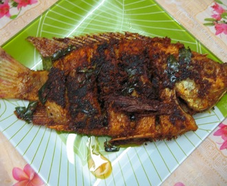 Coconut Chilli Fried Fish